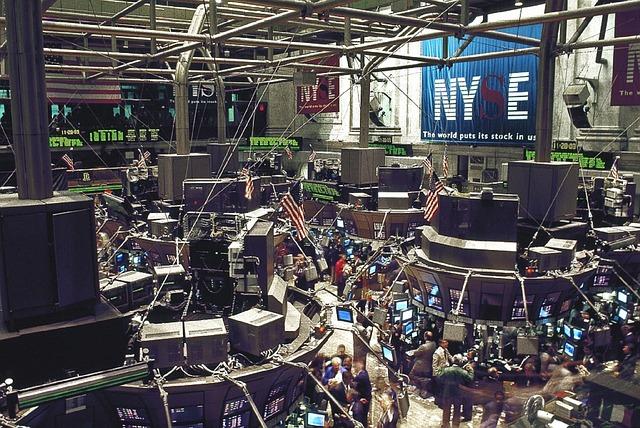Amerikanskt börsgolv
